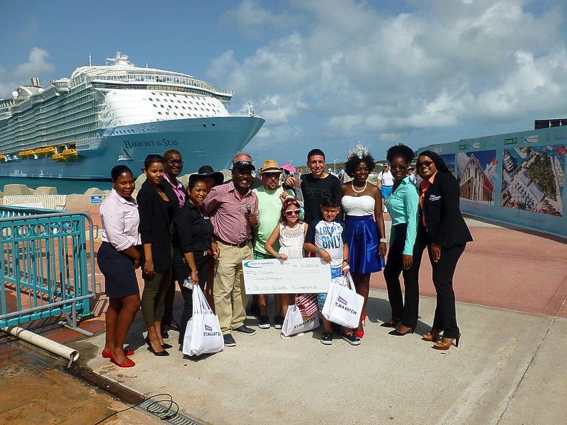 Miami family Barril becomes millionth cruise passenger