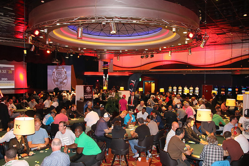 All cards set for games of World Series Poker Circuit