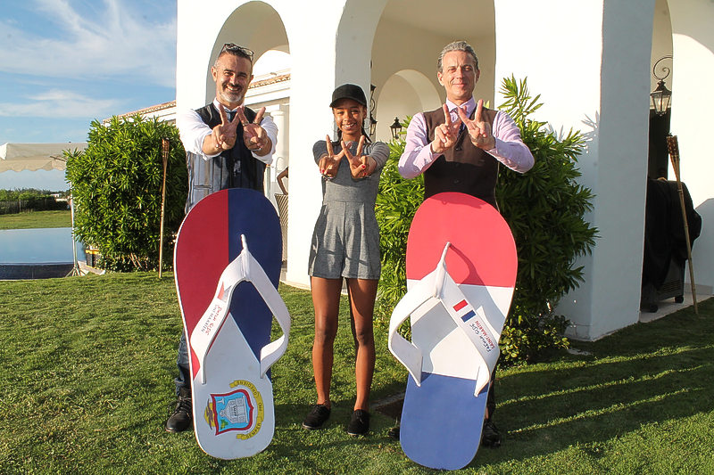 Friendly Flip Flops officially launched at La Samanna
