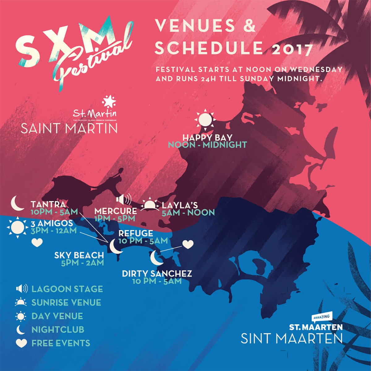 SXM Music Festival Updates & Information